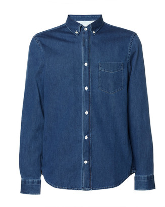 Acne Studios Isherwood Cotton-Chambray Shirt
