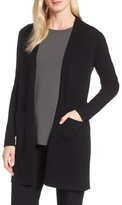 Eileen Fisher Women's Long Cashmere Cardigan
