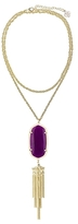 Kendra Scott Signature Rayne Pendant Tassel Necklace, 38
