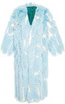 Alena Akhmadullina Arctic Fox Fur Long Coat