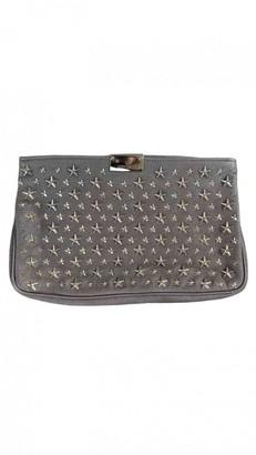 Jimmy Choo Metallic Leather Clutch bags