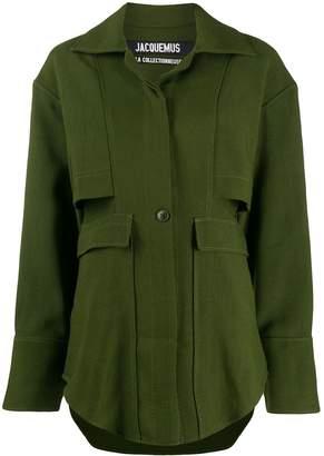 Jacquemus oversized pocket military jacket