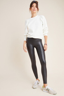 Spanx Faux Leather Leggings By in Black Size XS