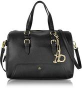 Roccobarocco RB - Large Saffiano Eco Leather Top Zip Satchel Bag