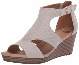 Dr. Scholl's Womens Elia Oyster Ankle Straps 8.5 M