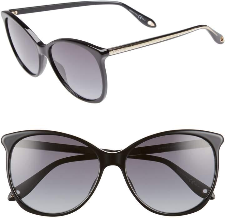 Givenchy 58mm Retro Sunglasses