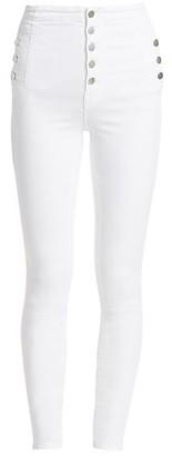 J Brand Natasha Sky High-Rise Skinny Jeans