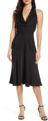 Harlyn Halter Fit & Flare Dress