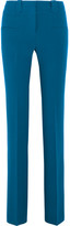 Altuzarra Serge Stretch-crepe Flared Pants - Bright blue