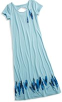 GUESS Feather Maxi Dress (7-16)