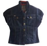 Burberry Blue Denim - Jeans Leather jackets