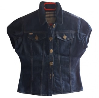 Burberry Blue Denim - Jeans Leather jackets