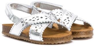 Pépé Laser-Cut Sandals