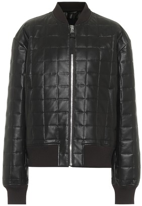Bottega Veneta Quilted leather bomber jacket