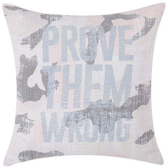 "Sean John Prove Them Wrong 18"" Square Decorative Pillow Bedding"