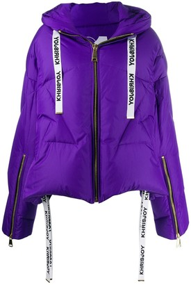 KHRISJOY Zipped Puffer Jacket