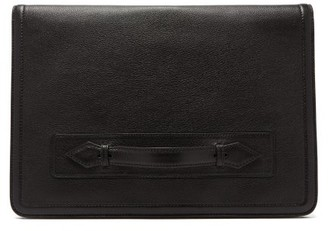 Métier Metier - Editor Leather Briefcase - Black