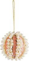 Joanna Buchanan Pearl Ball Christmas Tree Decoration - Pink