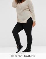 Junarose High Waisted Slim Leg Jean