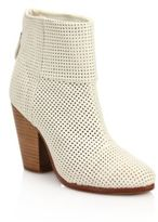 Rag & Bone Classic Newbury Perforated Leather Boots