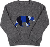 Barneys New York BEAR CASHMERE SWEATER