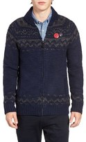 Scotch & Soda Men's Zip Shawl Collar Cardigan