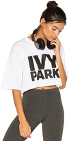 Ivy Park Logo Cropped Tee