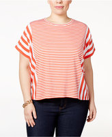 MICHAEL Michael Kors Size Striped Top