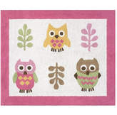 Sweet Jojo Designs Happy Owl Kids Floor Rug Rug