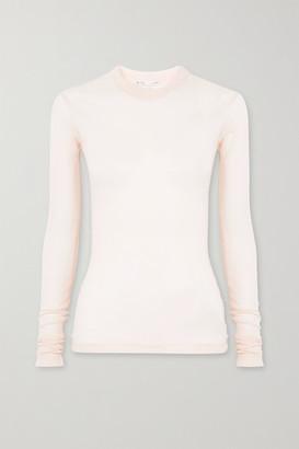 Bite Studios + Net Sustain Ribbed Organic Cotton-jersey Top