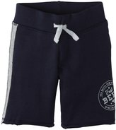 Burt's Bees Baby Racing Stripe Shorts (Baby) - Midnight-18 Months