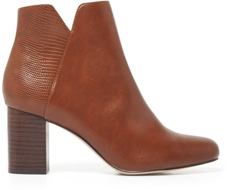 Forever New Willa Mid-Block Boots - Tan - 36