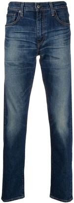 Levi's Stonewashed Straight-Leg Jeans