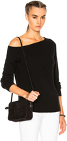 James Perse Off Shoulder Cashmere Sweater