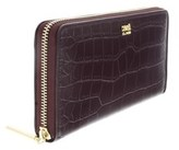 Roberto Cavalli Dea 192 Burgundy Long Wallet.