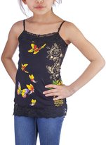 Ed Hardy Girls Butterfly Tank Top Dress/Shirt