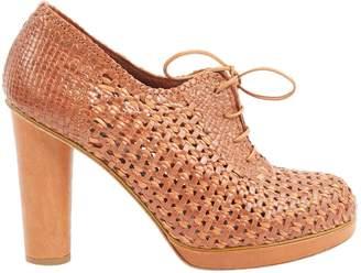Nicole Farhi Brown Leather Heels
