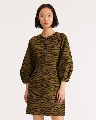Veronica Beard Navi Zebra Dress