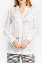Missoni Button-Down Crochet Shirt