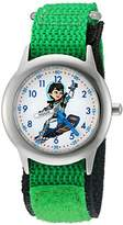 Disney Boy's 'Miles from Tommowland' Quartz Stainless Steel and Nylon Watch