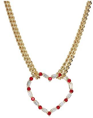 Vanessa Mooney The Valentine Necklace (Gold) Necklace