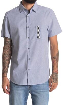Sovereign Code Kidd Zigzag Stripe Short Sleeve Regular Fit Shirt