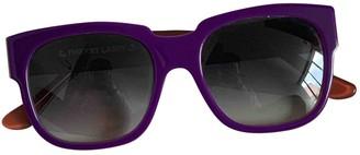 Thierry Lasry Purple Plastic Sunglasses