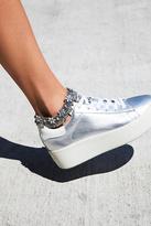 Free People Pearl Flower Anklet