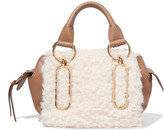 See by Chloe Small shearling and leather shoulder bag