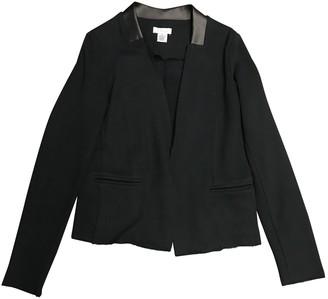 Barneys New York Black Cotton Jacket for Women