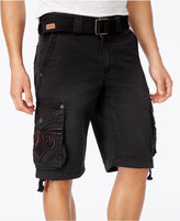 "Affliction Men's Core Shocked Cargo 12 1/2"" Shorts"