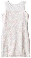 Us Angels Printed Lace Sleeveless Illusion Sheath Dress (Big Kids)