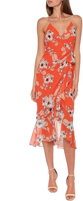 Bardot Loretta Floral Wrap Front Dress