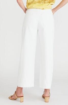 ÉTICA Devon Ripped High Waist Crop Wide Leg Jeans